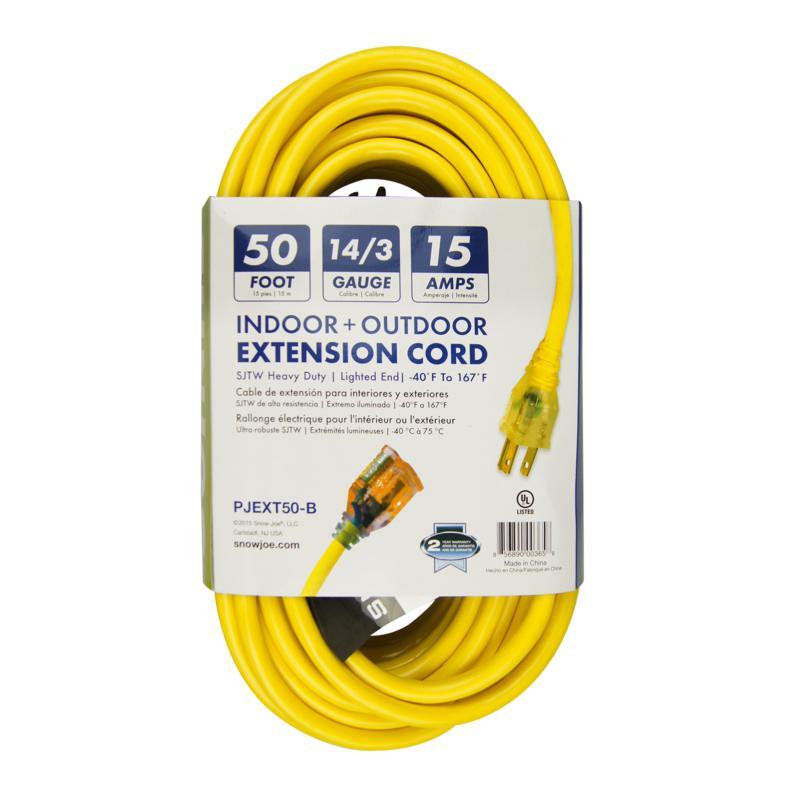 Snow Joe® 50-feet 14-gauge Low Temp Extension Cord