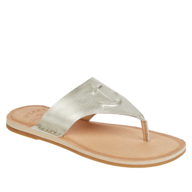 Sperry Seaport Leather Thong Sandal