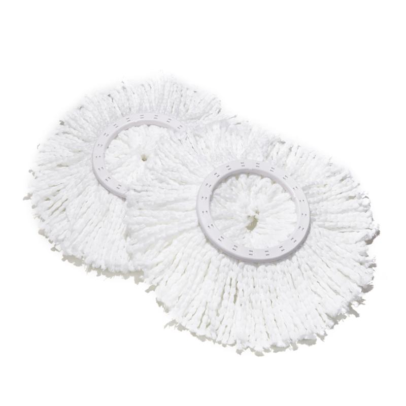 Spin Mop Pressto Replacement Mop Heads 2-pack