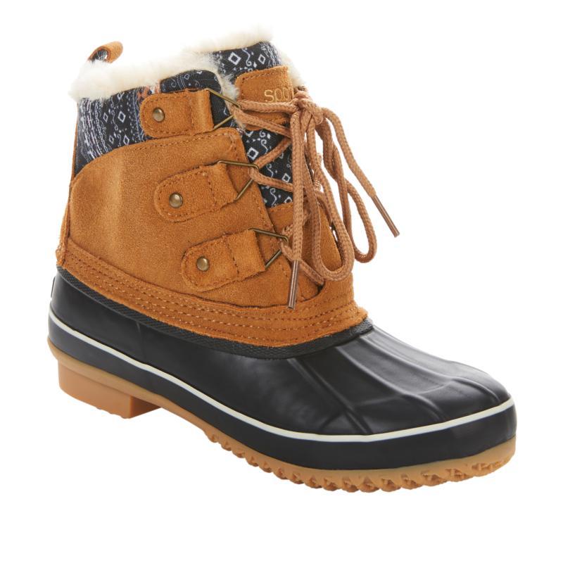 Sporto® Cassie Leather Waterproof Duck Boot