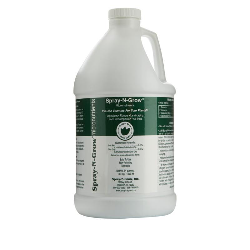 Spray-N-Grow Micronutrients 64 oz. Bottle