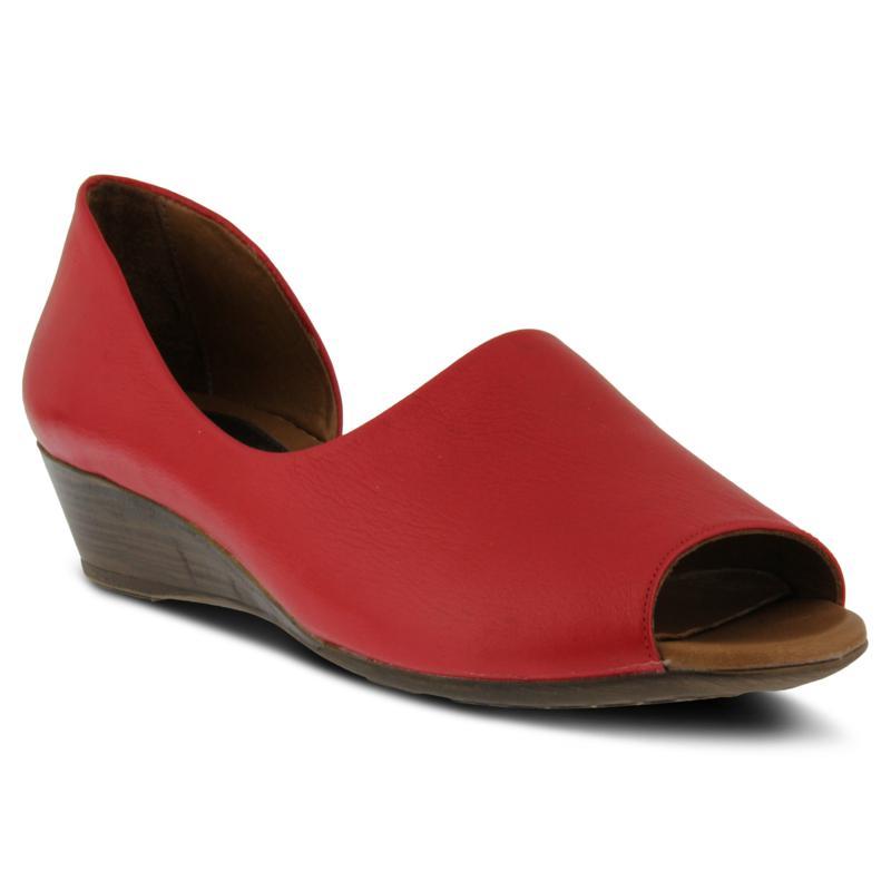 Spring Step Leather Lesamarie Wedge Slip-ons