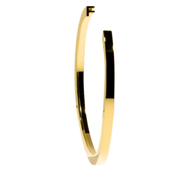 Stella Valle Goldtone Initial Charm Bracelet
