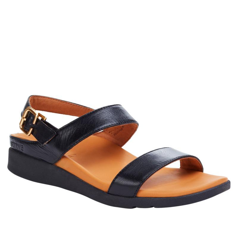 Strive Lucia Leather Slingback Orthotic Sandal
