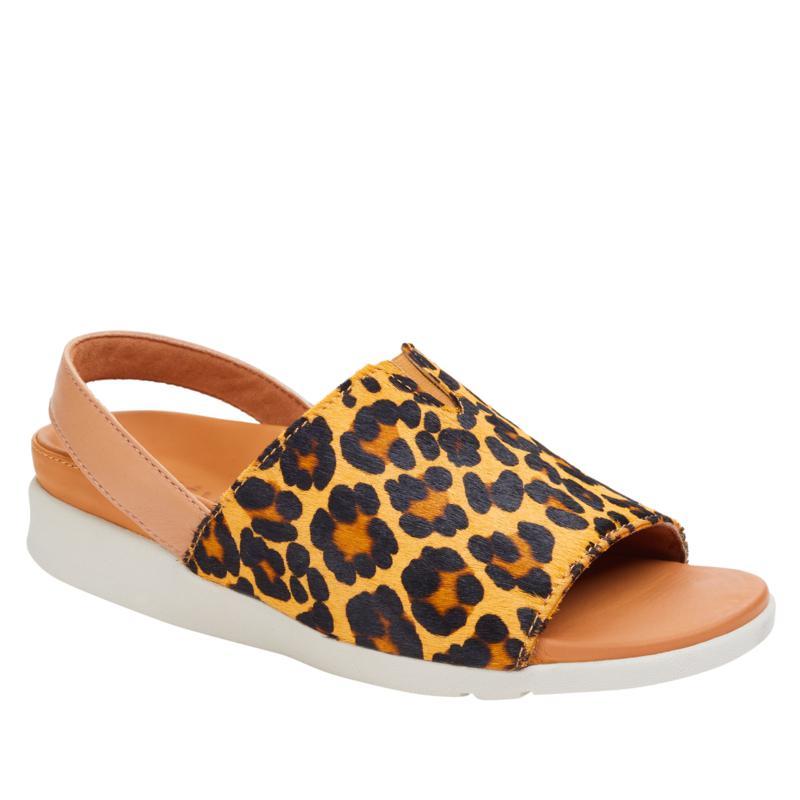 Strive Mara Leather Orthotic Slingback Sandal