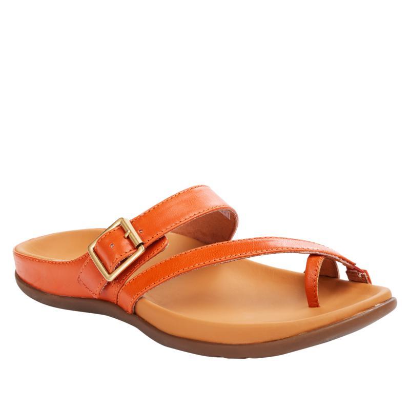 Strive Nusa Leather Slim-Line Orthotic Sandal