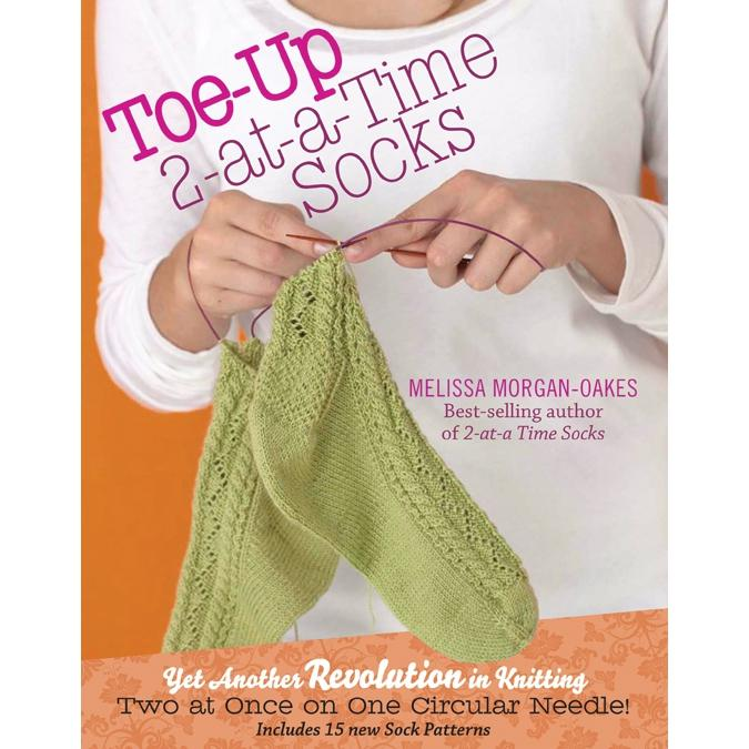 """""""Toe-Up 2-At-A-Time Socks"""" Book"""