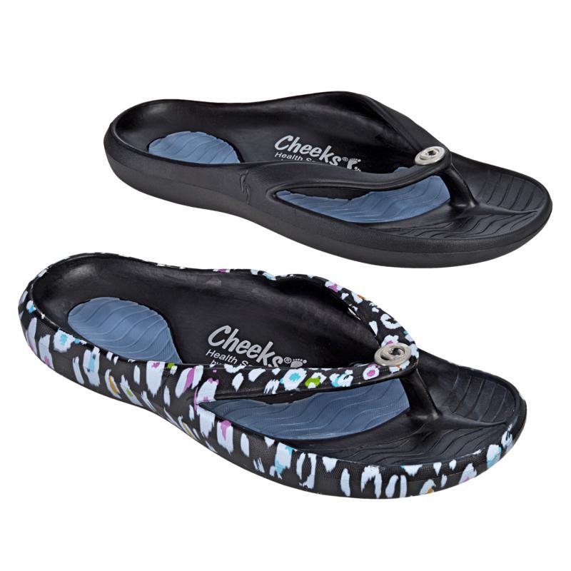 Tony Little Cheeks® 2-pack Toe-Post Health Sandal