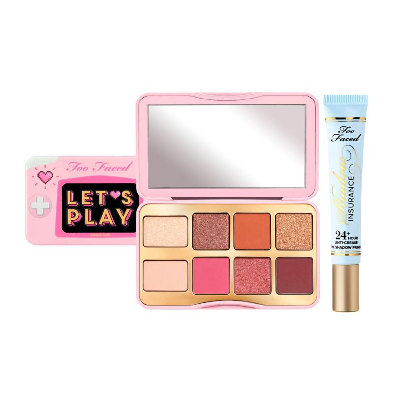 Too Faced Let's Play Mini Palette with Shadow Insurance Primer