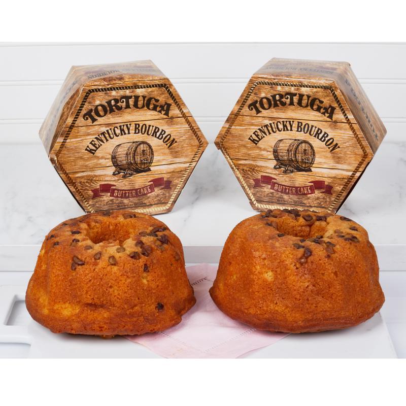 Tortuga 16 oz. Kentucky Bourbon Butter Cake 2-pack