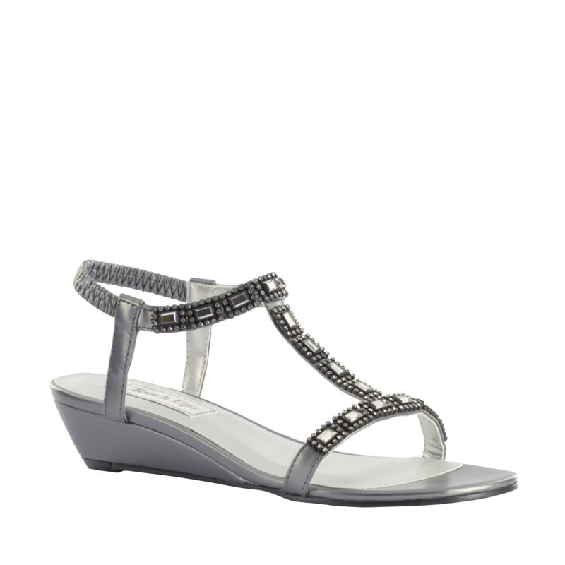Touch Ups Jazz Wedge Sandal - Wide Width