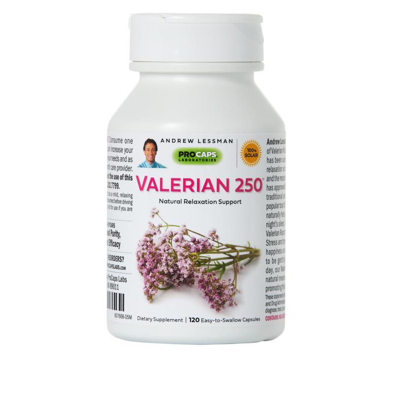 Valerian-250 - 120 Capsules
