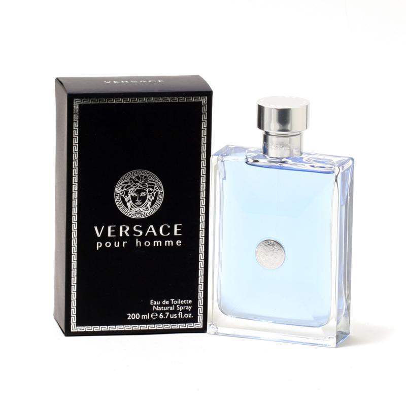 Versace Pour Homme 6.7 oz. Eau De Toilette Spray