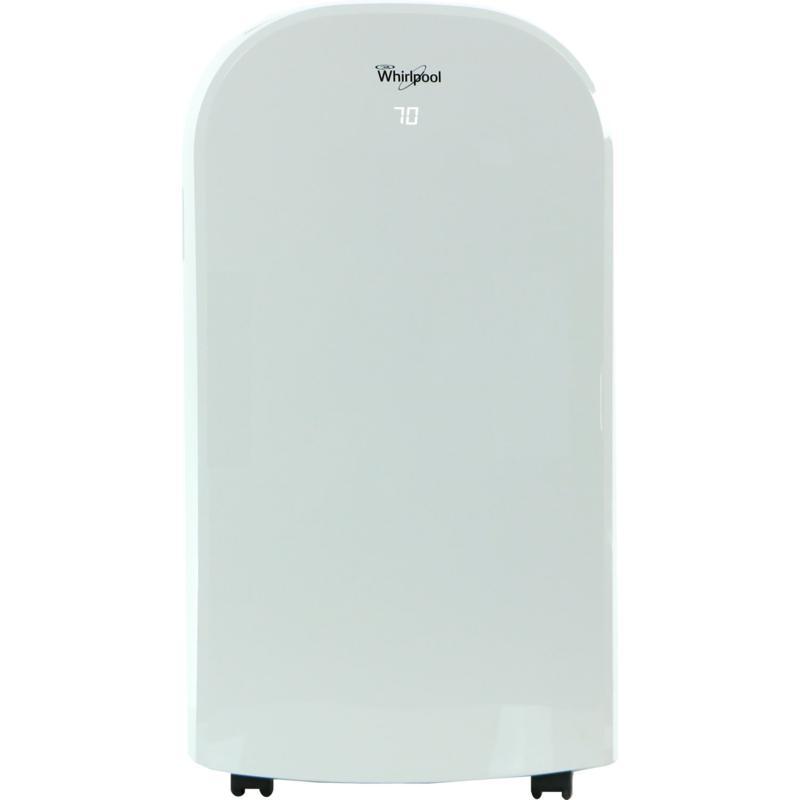Whirlpool 400 Sq. Ft. Portable Air Conditioner w/Remote Control -White