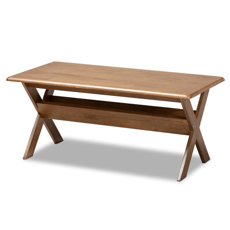 Wholesale Interiors Sarai Rectangular Wood Coffee Table
