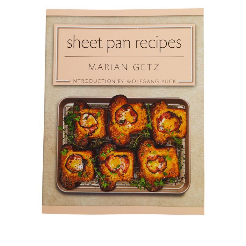 Wolfgang Puck Sheetpan Recipes Cookbook by Marian Getz
